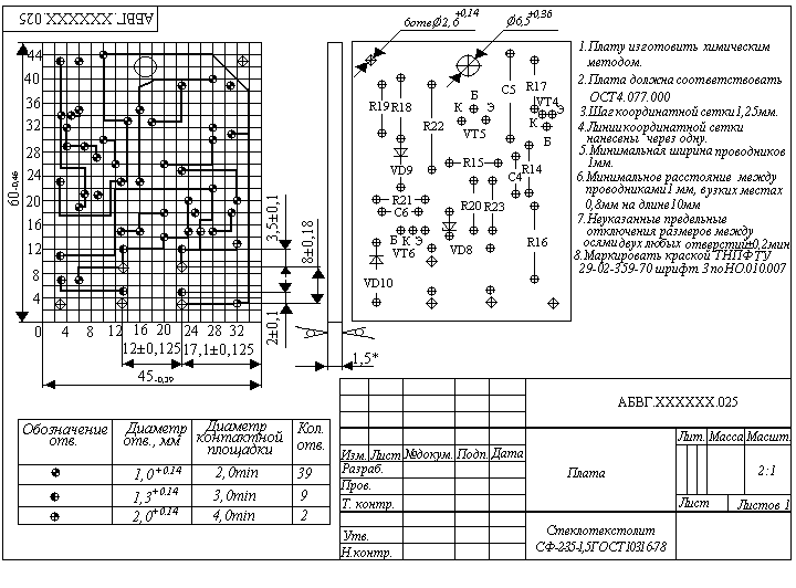 Печатные схемы