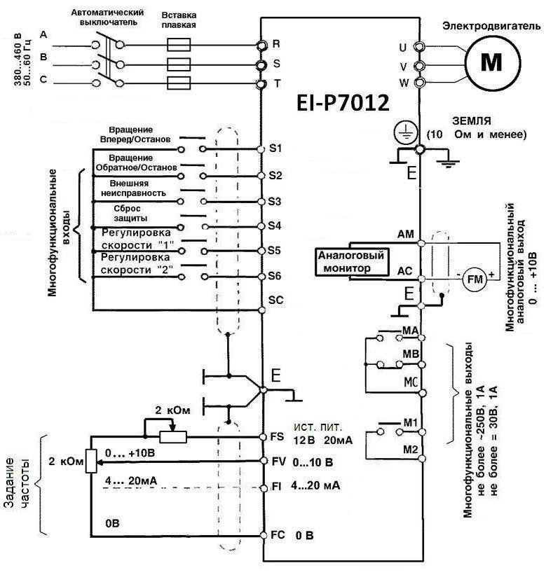 Пид-регулирование давления: настройка преобразователей частоты atv31/ atv312