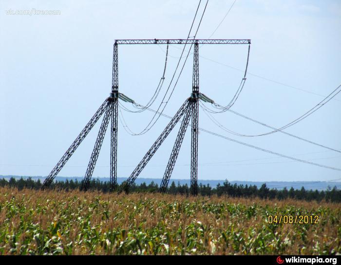 Высоковольтная линия постоянного тока