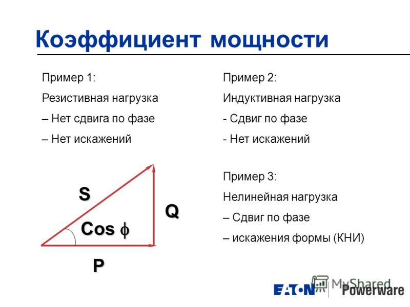 Cosφ | советы электрика