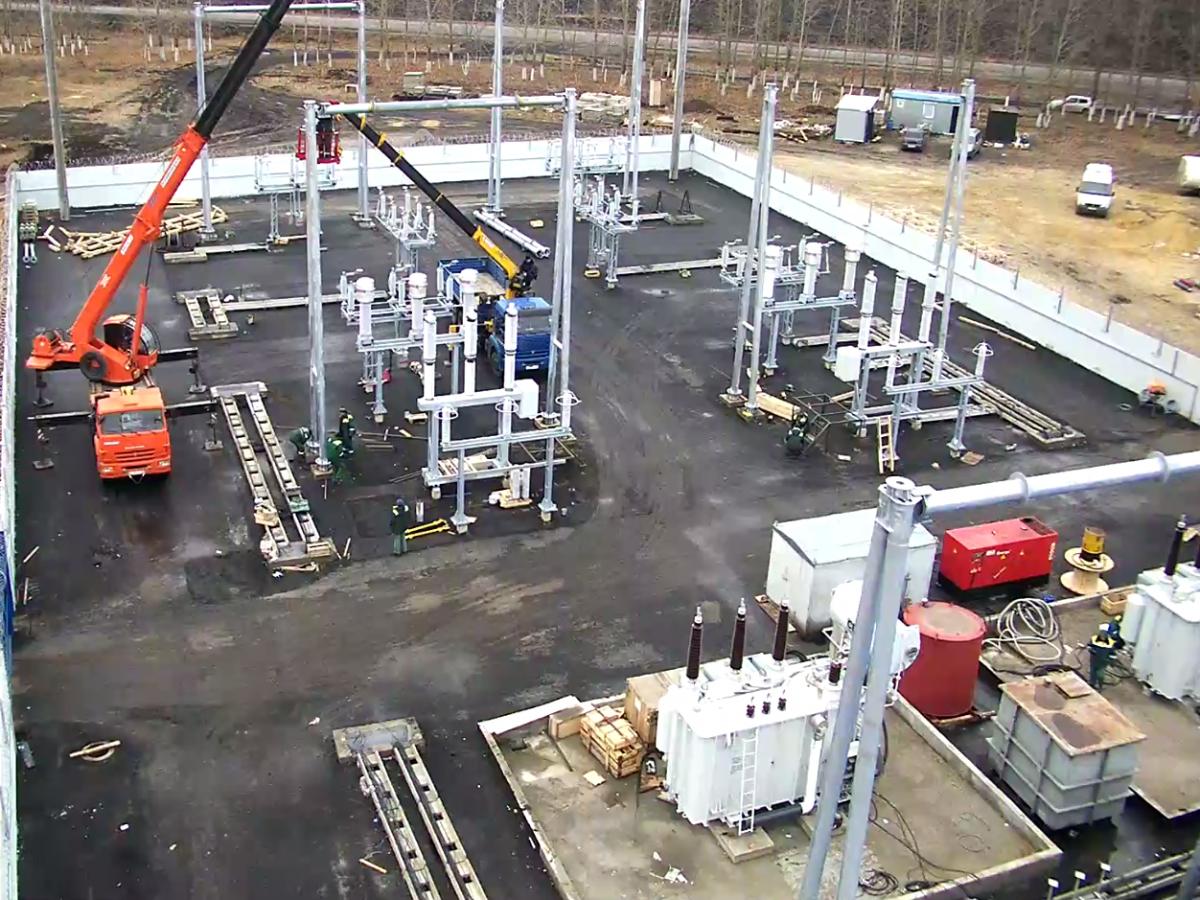 Размещение трансформаторной подстанции при проектировании электроснабжения