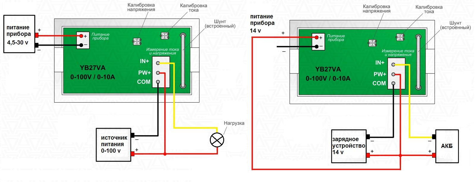Как включается амперметр в схему