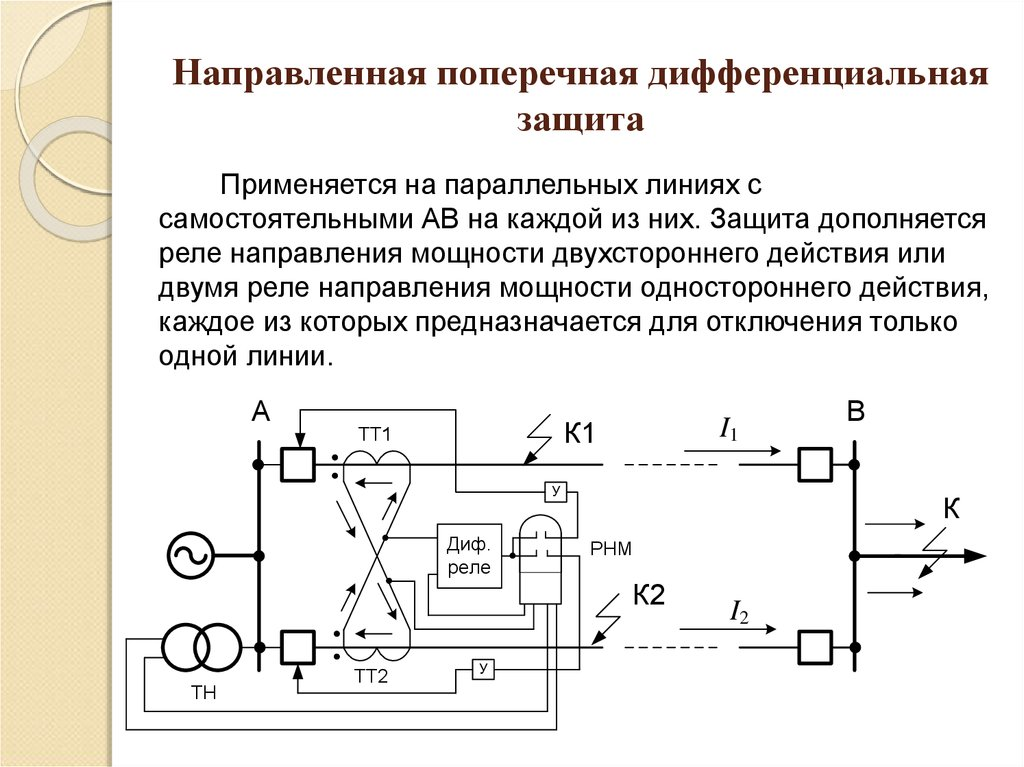Максимальная токовая защита - выбор и принцип действия рза