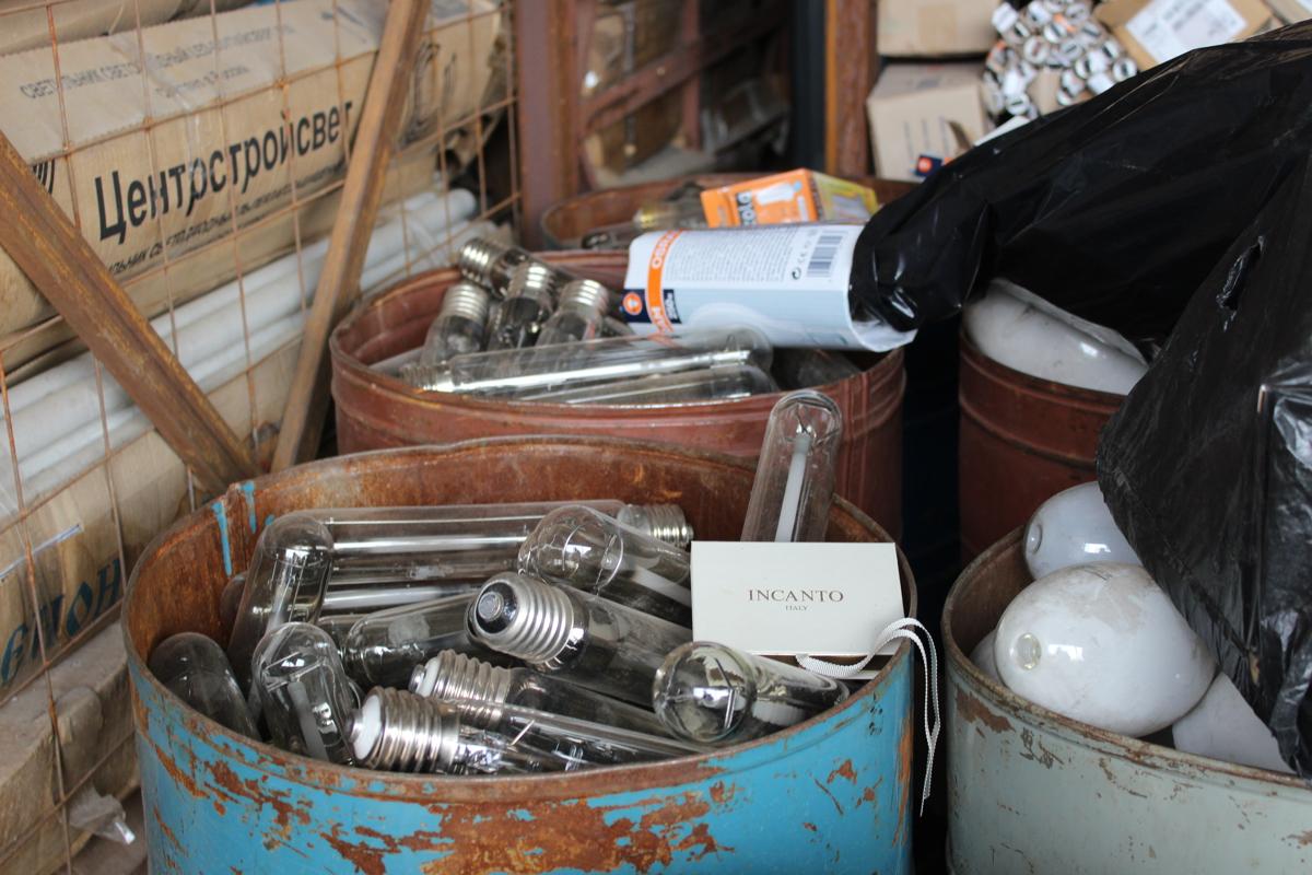 Утилизация старых аккумуляторов