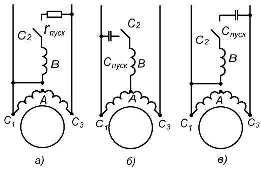 Двухфазный асинхронный двигатель. назначение, устройство, принцип действия. | мтомд.инфо