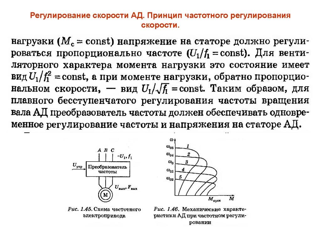 Частотный регулятор для асинхронного двигателя – устройство и принцип работы