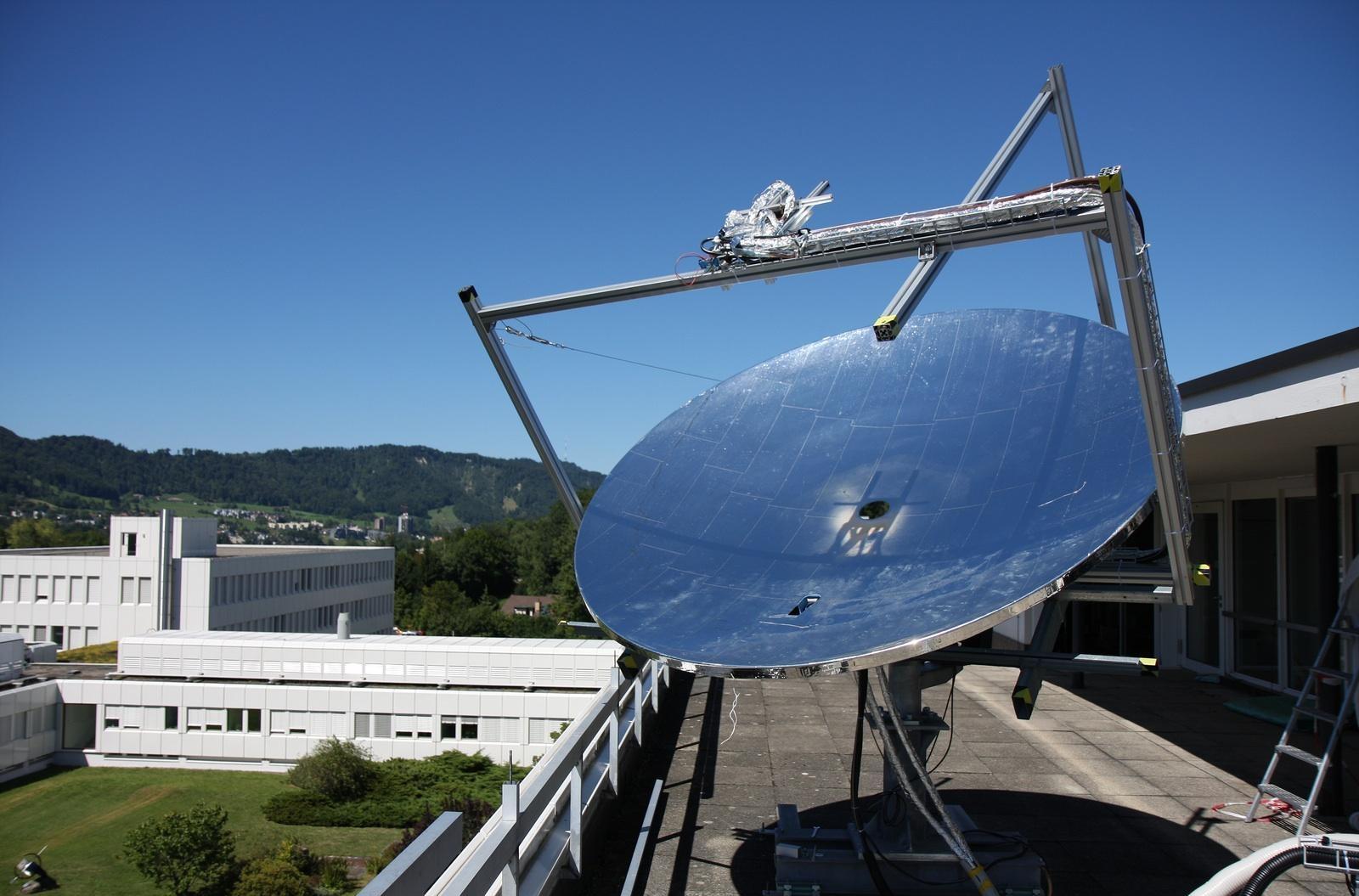 Солнечный тепловой концентратор. солнечная энергетика.