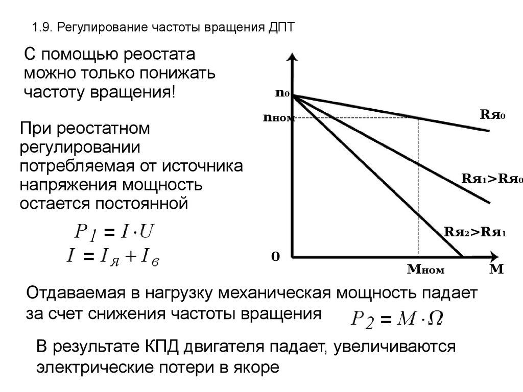 Регулирование угловой скорости асинхронного электродвигателя изменением числа пар полюсов на статоре