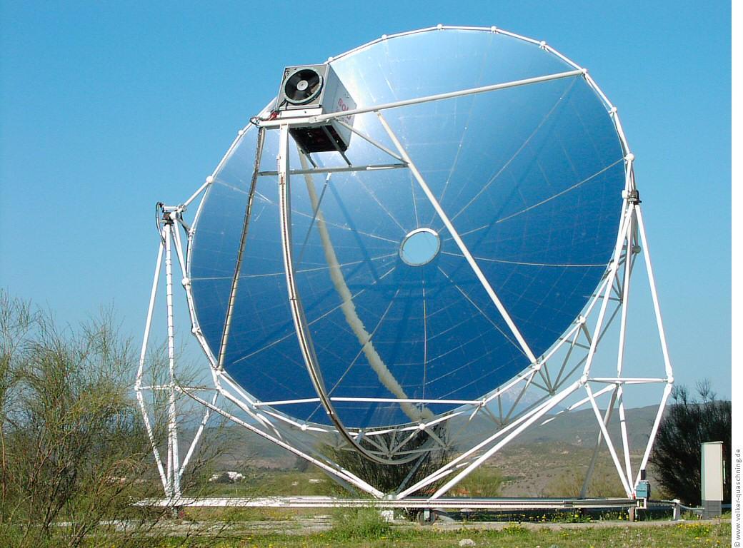 Виды и конструктивные особенности: солнечных концентраторов