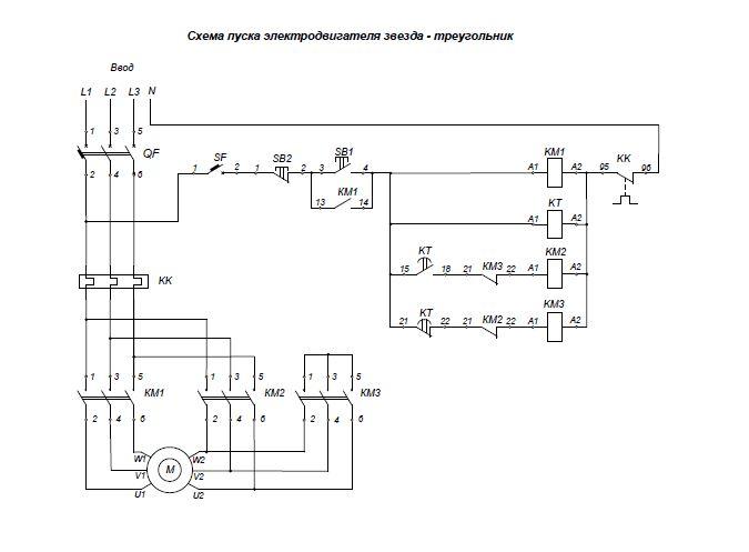 Устройство плавного пуска асинхронного двигателя
