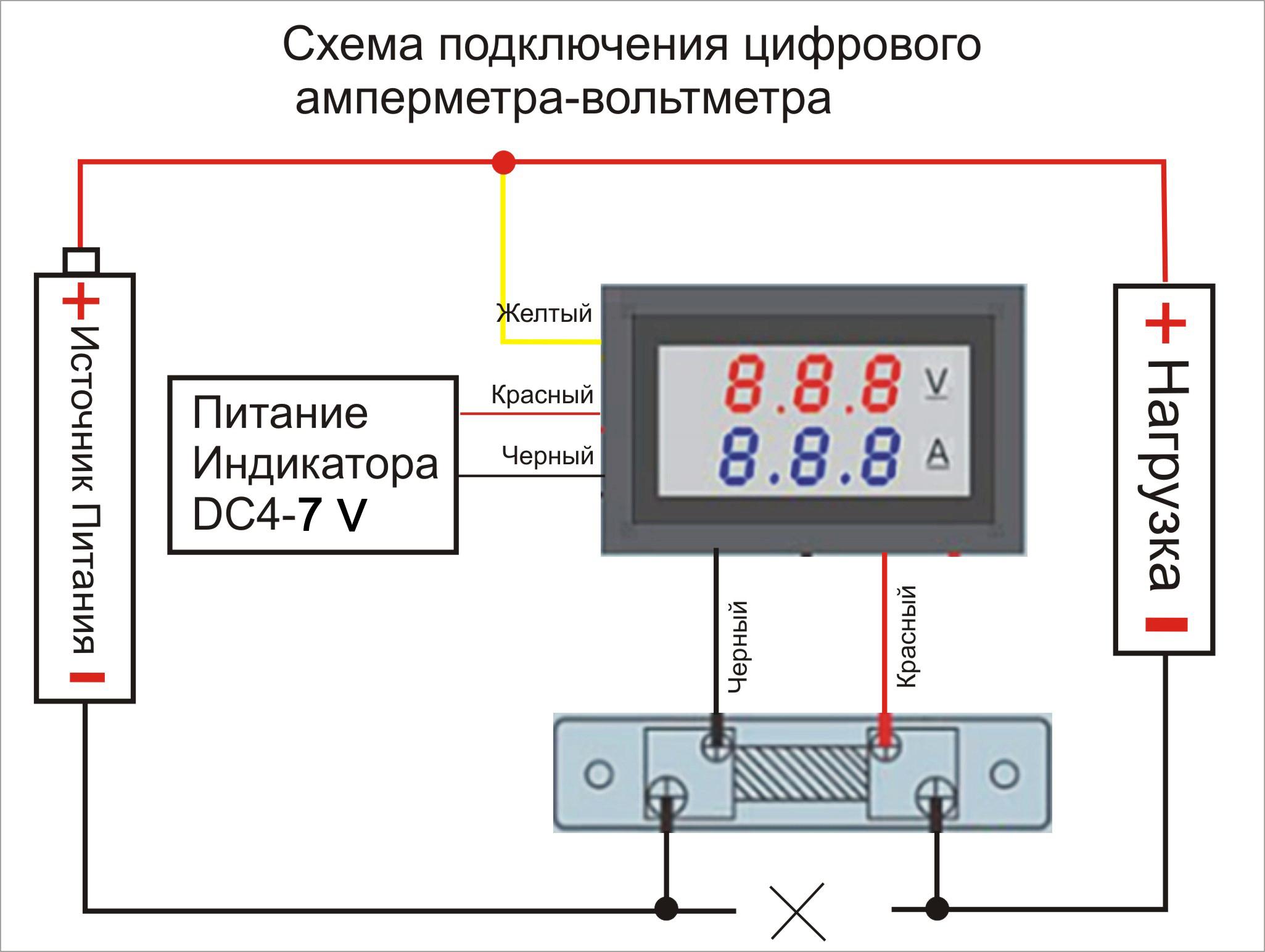 Особенности подключения амперметра в электрическую цепь