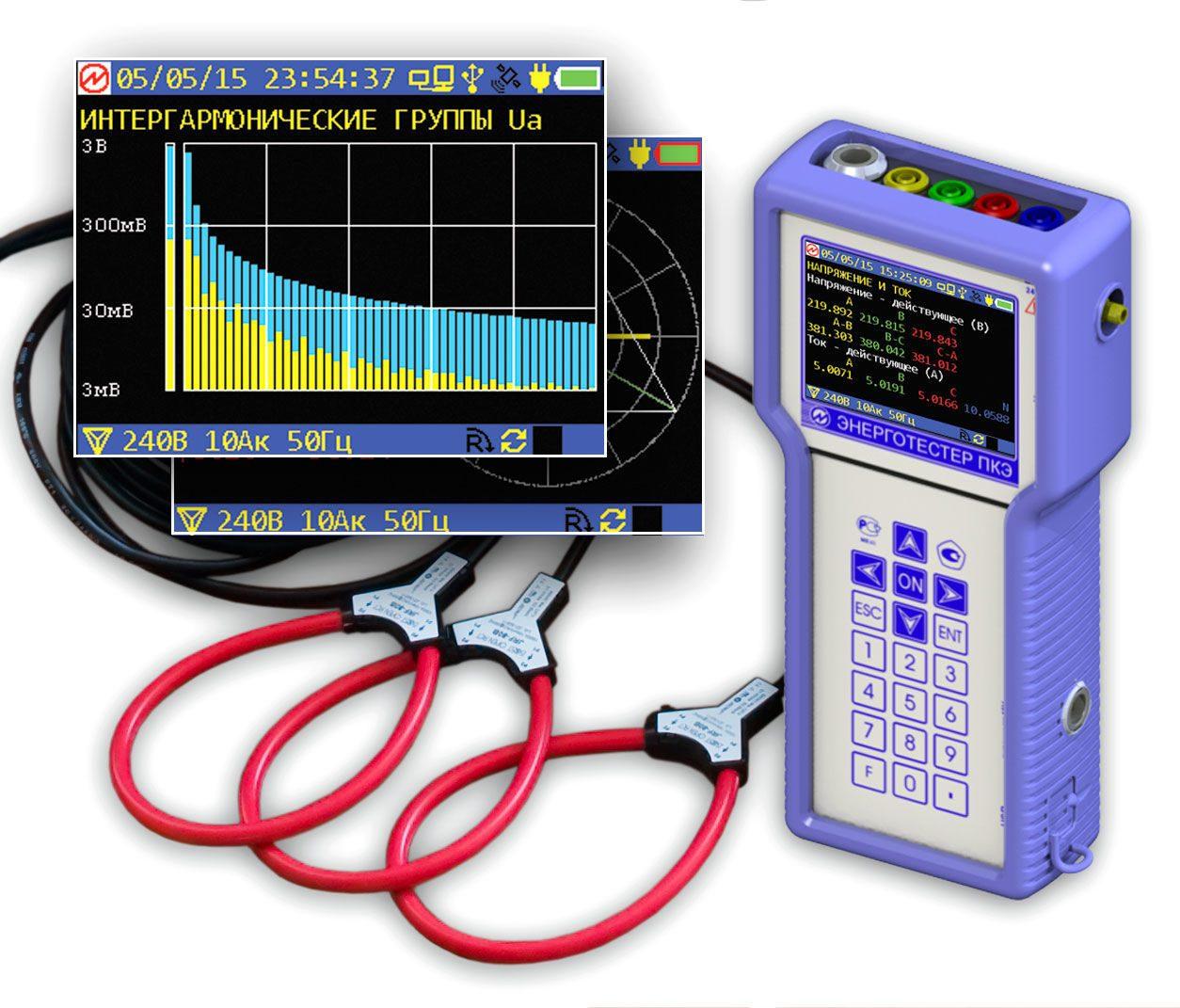Электрические приборы - приборы для измерения расхода электроэнергии и параметров тока
