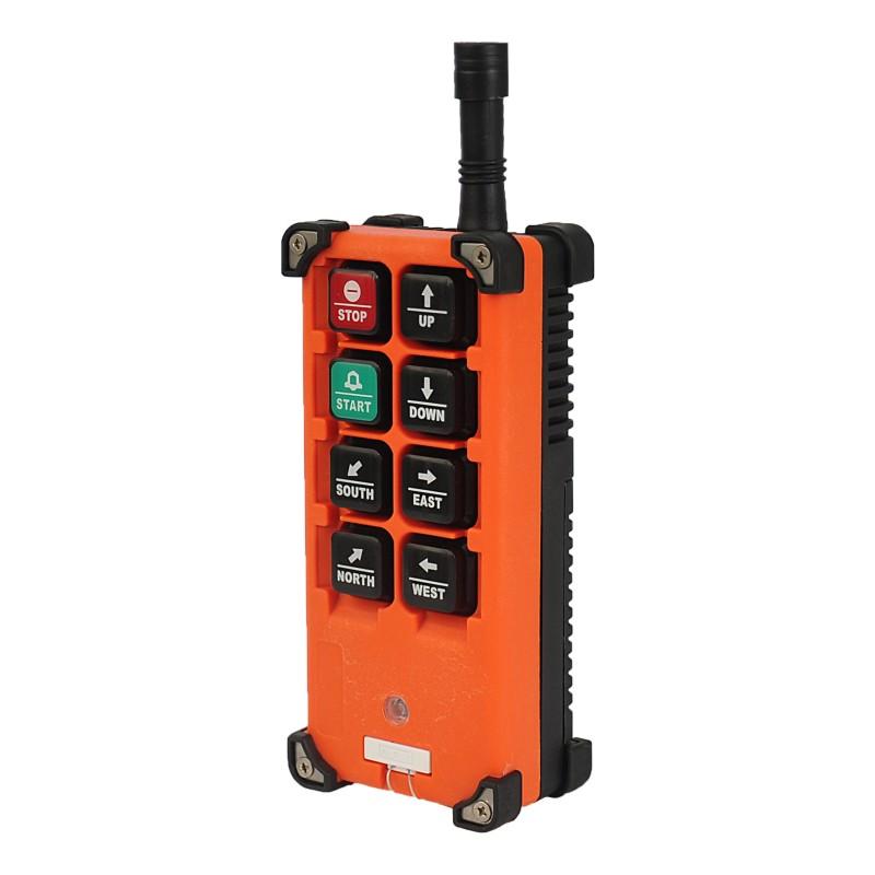 Как перевести кран на радиоуправление