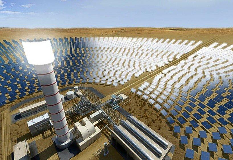 Солнечная электростанция википедия