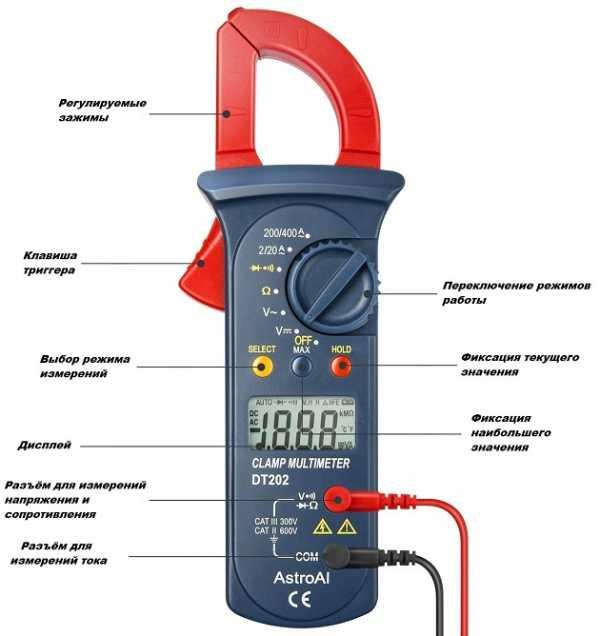 Токоизмерительные клещи: для чего предназначены токовые электроизмерительные клещи? клещи постоянного и переменного тока, до 1000 в. как пользоваться?