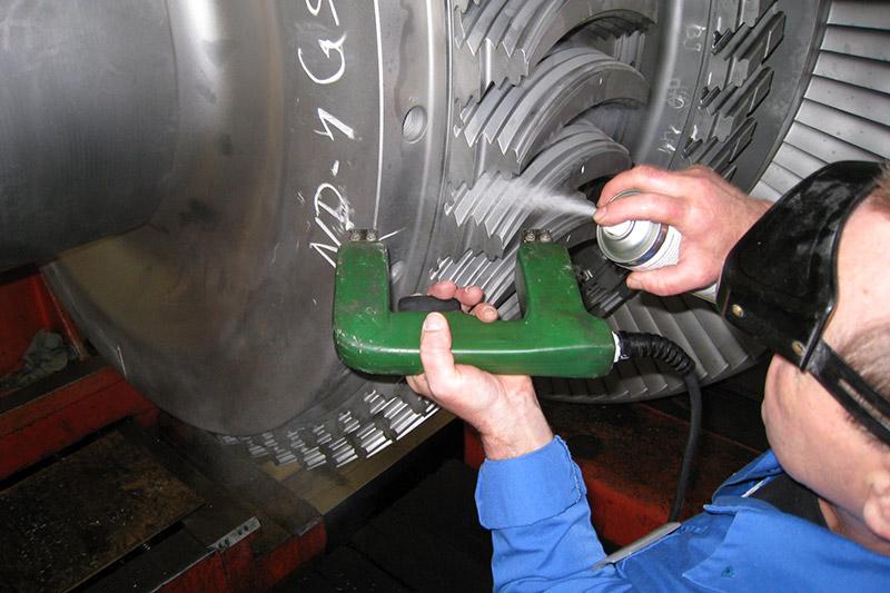 Магнитные методы контроля сварных швов. магнитная дефектоскопия    сварки