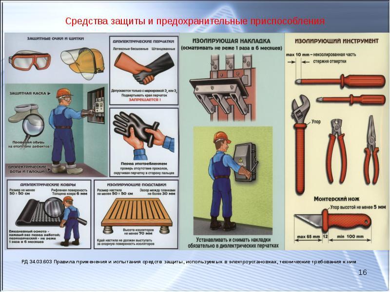 1.3. порядок хранения средств защиты [инструкция по применению и испытанию средств защиты, используемых в электроустановках]                 - последняя редакция | база нпа