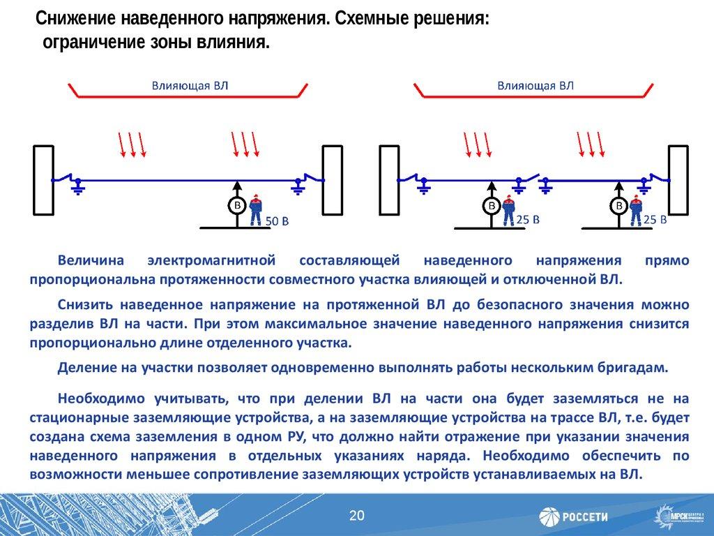 """""""новости электротехники №3(51)"""" безопасность работ на вл, находящихся под наведенным напряжением"""