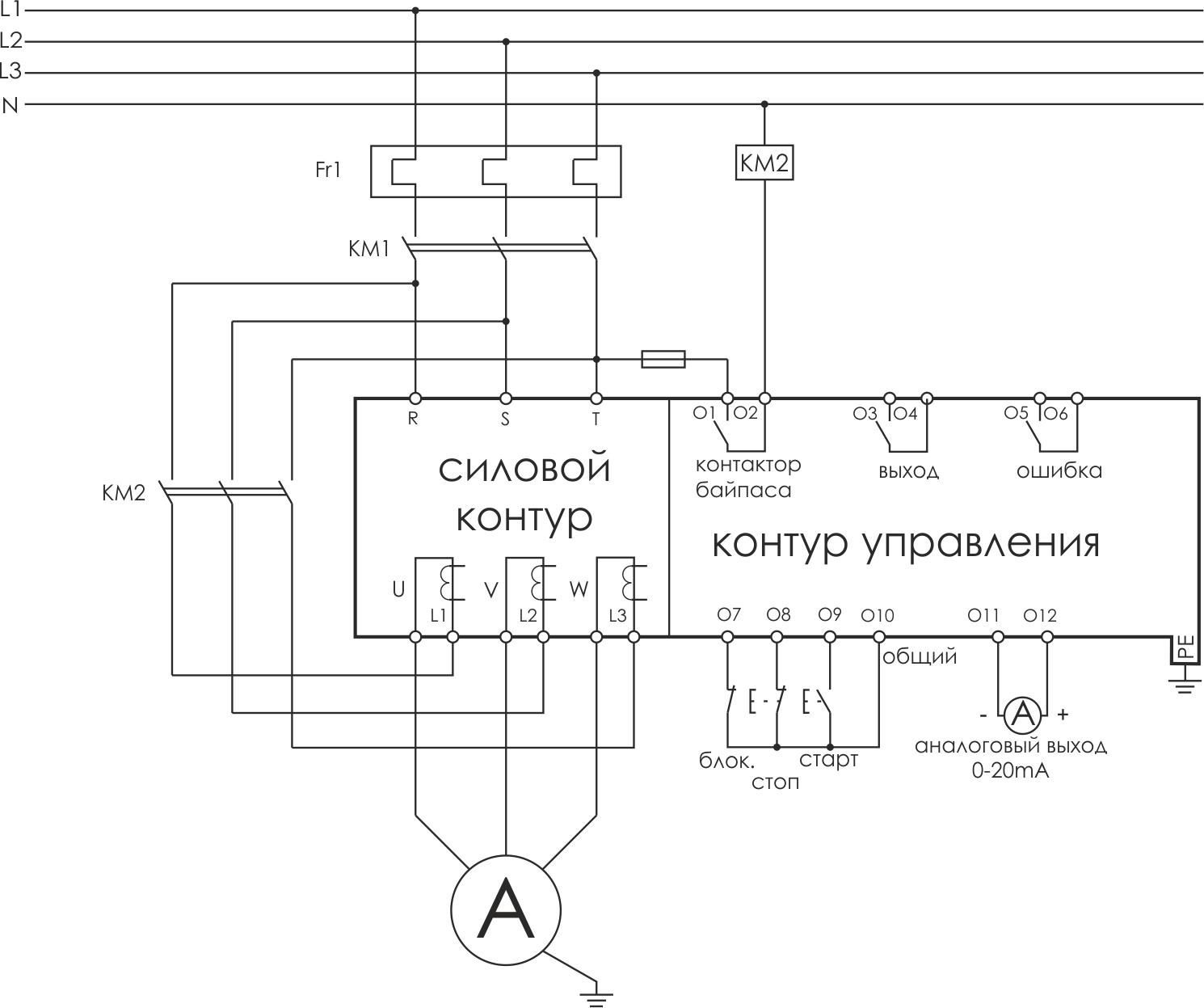 Что такое плавный пуск электродвигателя?