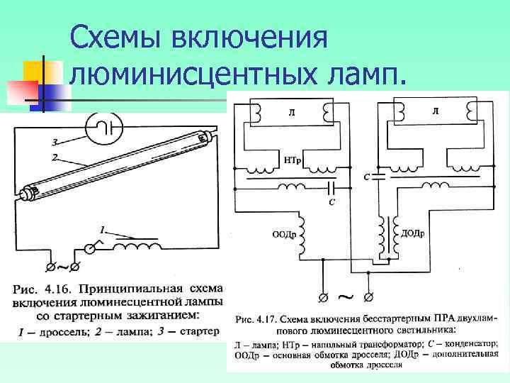 Ремонт люминесцентных ламп. ремонт люминесцентных светильников и люстр своими руками