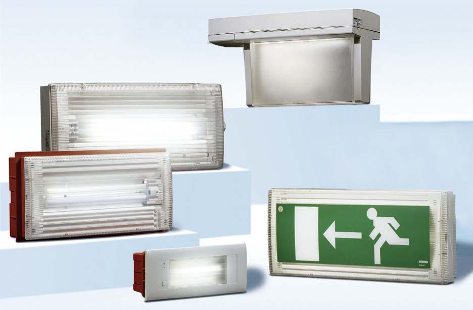 Аварийные светодиодные светильники с аккумуляторами