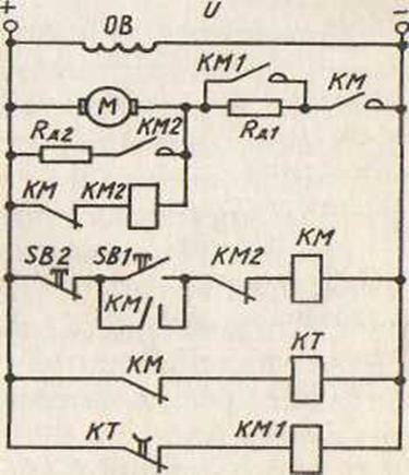 Схема управления двигателем. трехфазные асинхронные двигатели с короткозамкнутым ротором. пост кнопочный