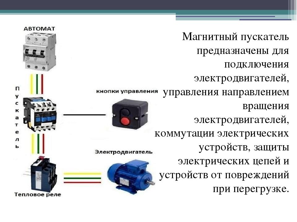 То и ремонт магнитных пускателей