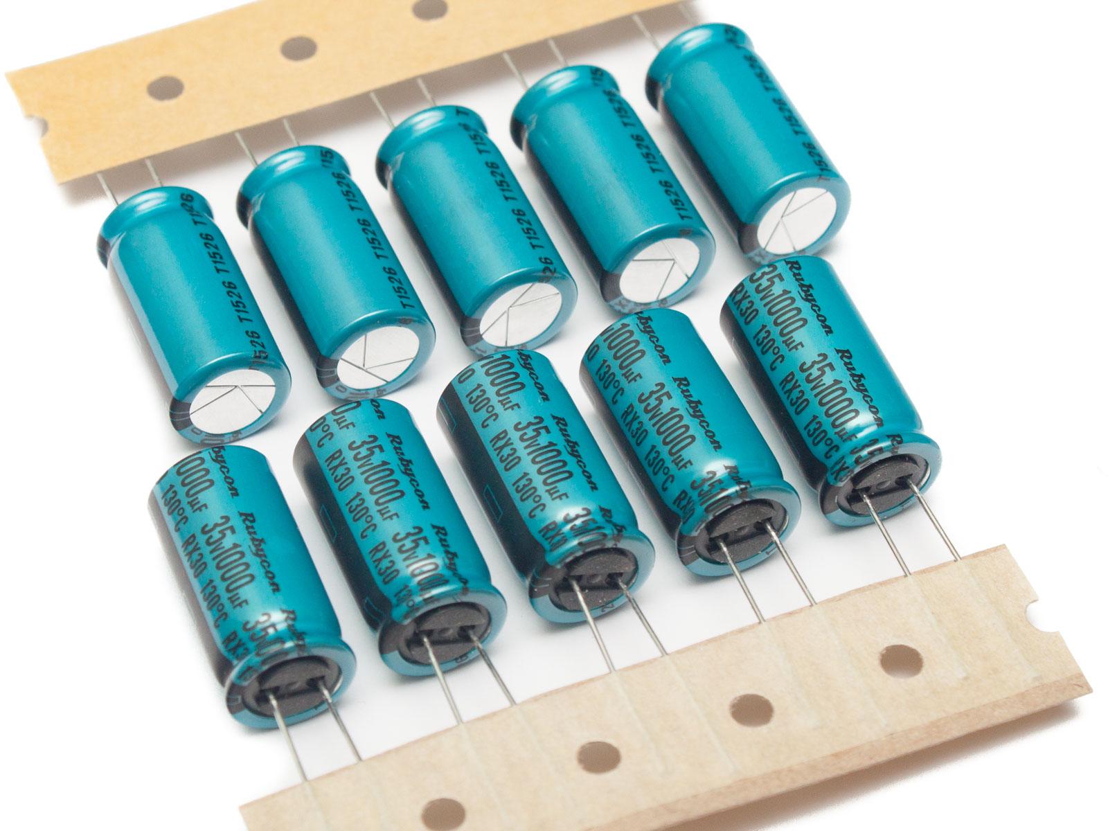 Для чего и зачем нужны электролитические конденсаторы (электролиты) и как их менять