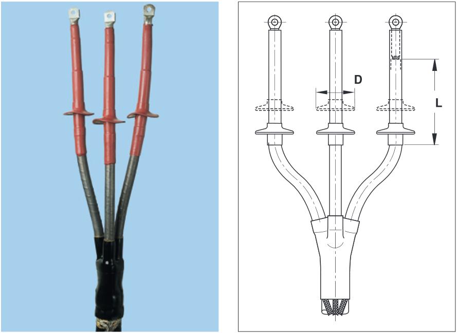 Концевая заделка. инструкция по монтажу концевых заделок и соединительных муфт для бронированных кабелей, допущенных к эксплуатации в подземных выработках шахт