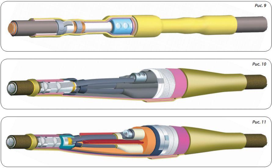 Соединительные муфты для силовых кабелей