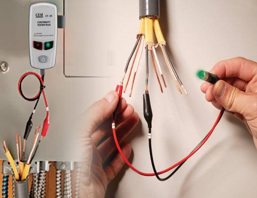 Прозвонка проводов и кабелей