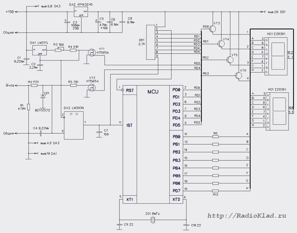 Как сделать простой вольтметр своими руками – схемы и рекомендации