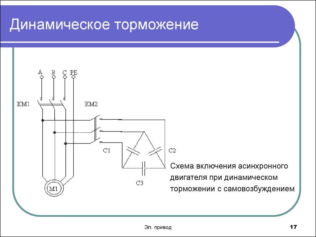 Торможение противовключением асинхронного двигателя | мтомд.инфо