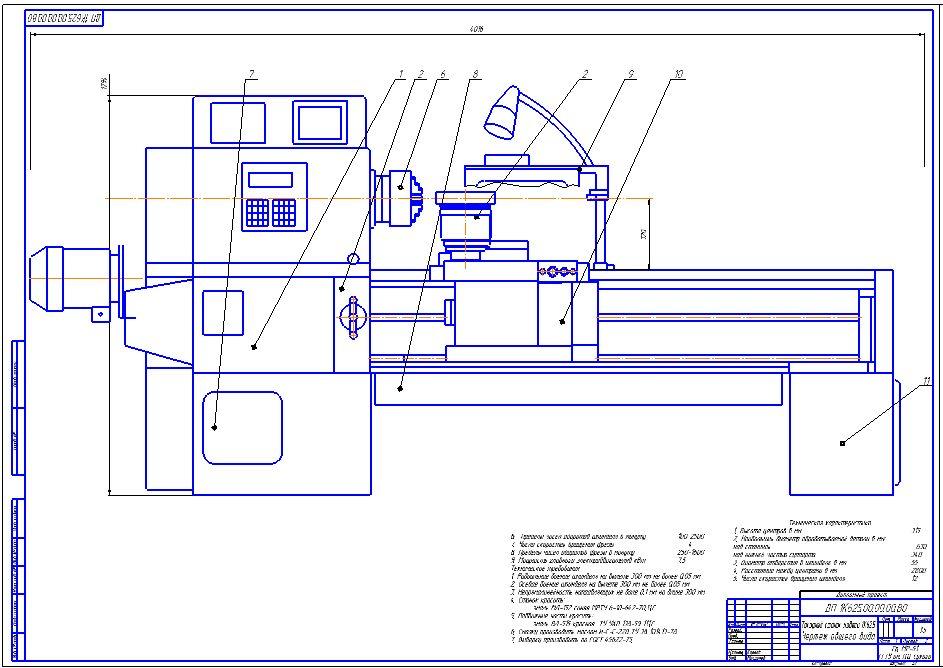 Токарно-фрезерный обрабатывающий  центр с чпу модели 1728с (и его модификации)