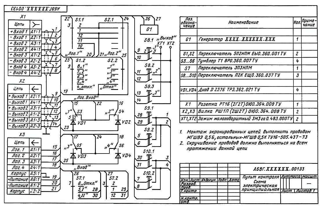 Проверка электрических цепей при наладке и ремонте электрооборудования