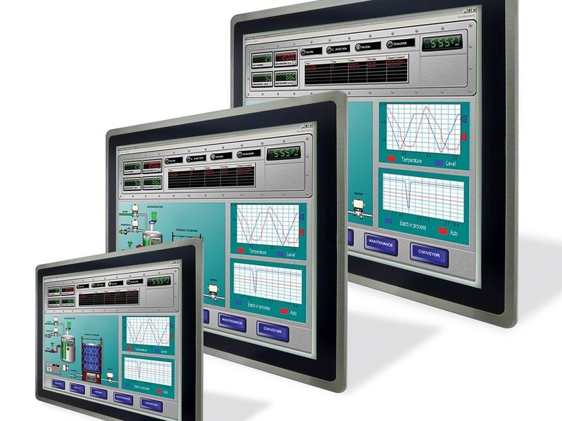 Панели оператора для применения с контроллерами