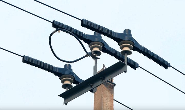 Воздушная линия электропередачи википедия