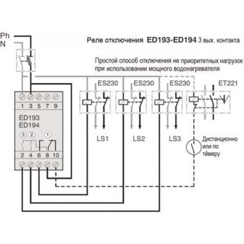 Реле контроля тока на дин рейку, россия | электротехническая компания меандр