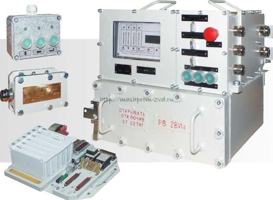Встраиваемые блоки управления электроприводами с бесконтактным пускателем