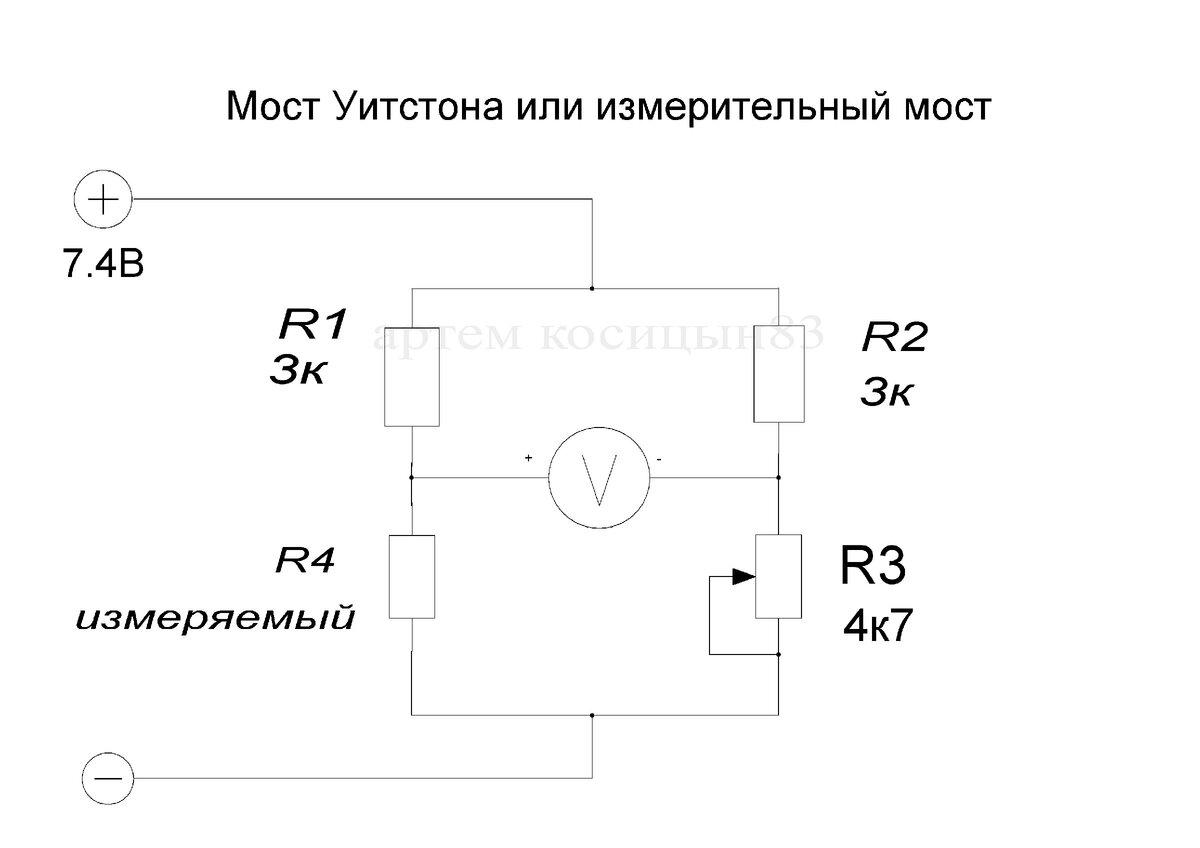 Измерительный мост — википедия. что такое измерительный мост