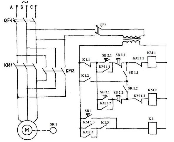 § 110. регулирование скорости вращения, реверсирование и торможение асинхронных двигателей [1970 кузнецов м.и. - основы электротехники]