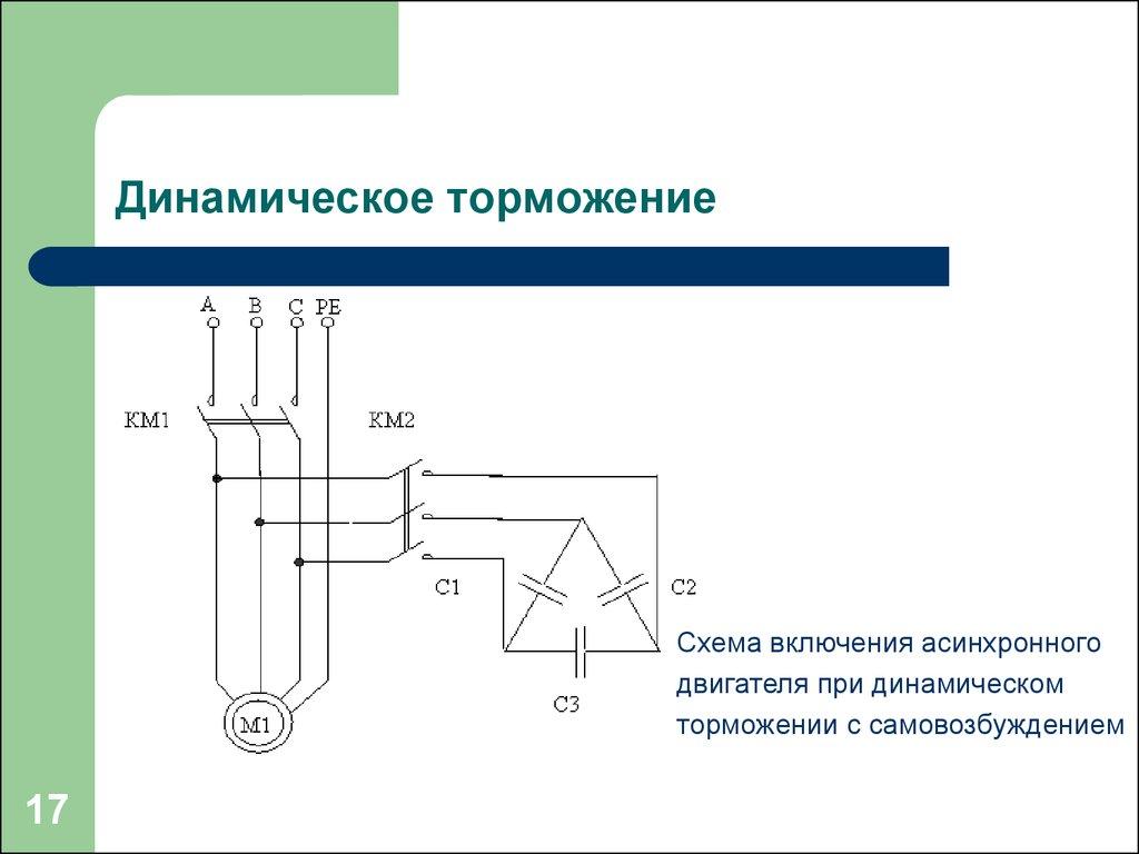 Способы и схемы торможения электродвигателей