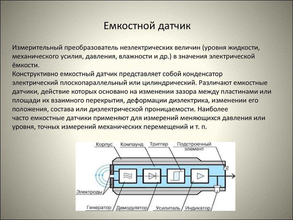 Реферат: бесконтактные датчики положения