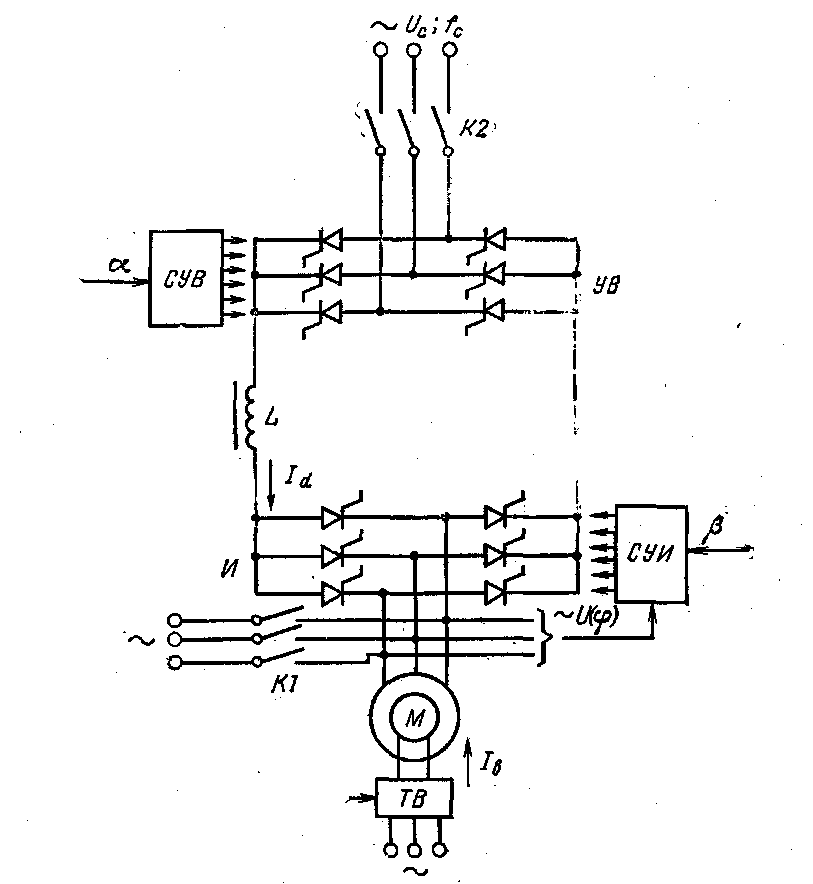 Датчик напряжения вентильного преобразователя постоянного тока —  su   917276