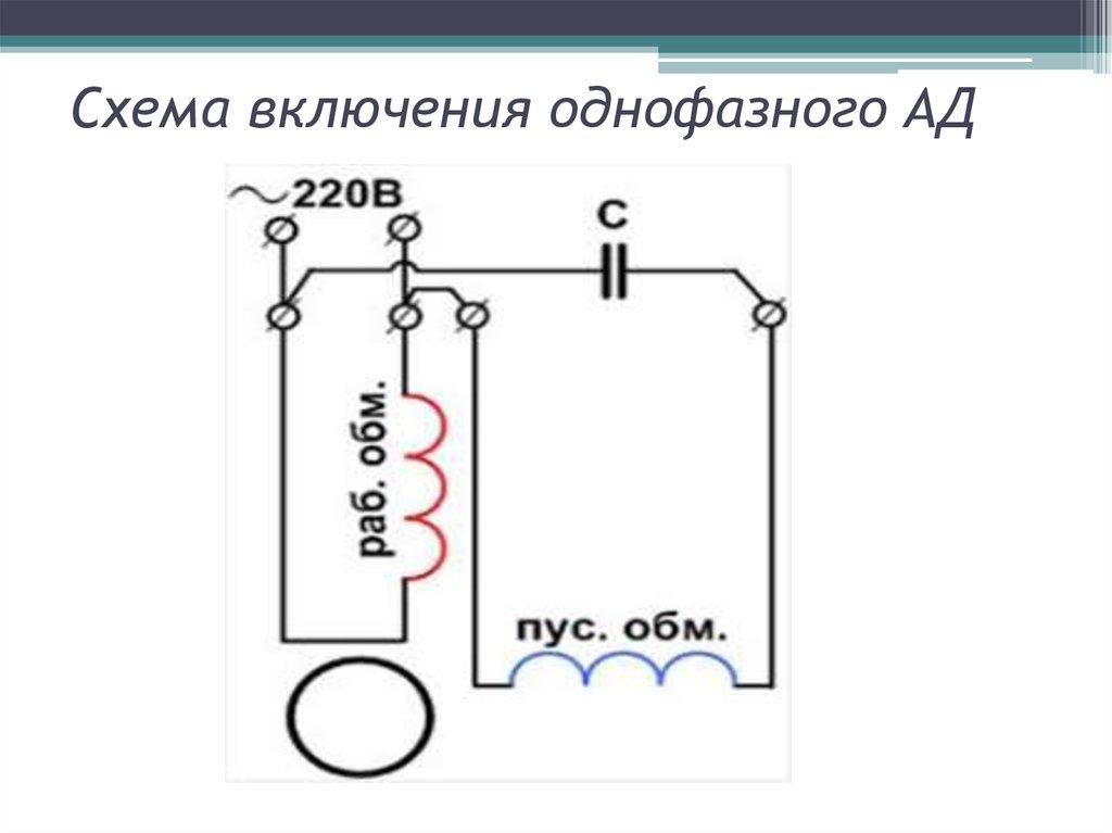 Однофазный асинхронный двигатель: устройство и принцип действия
