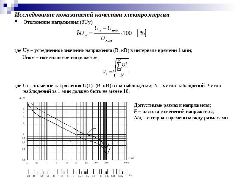 Показатели качества электроэнергии. категории надежности электроснабжения электроприемников