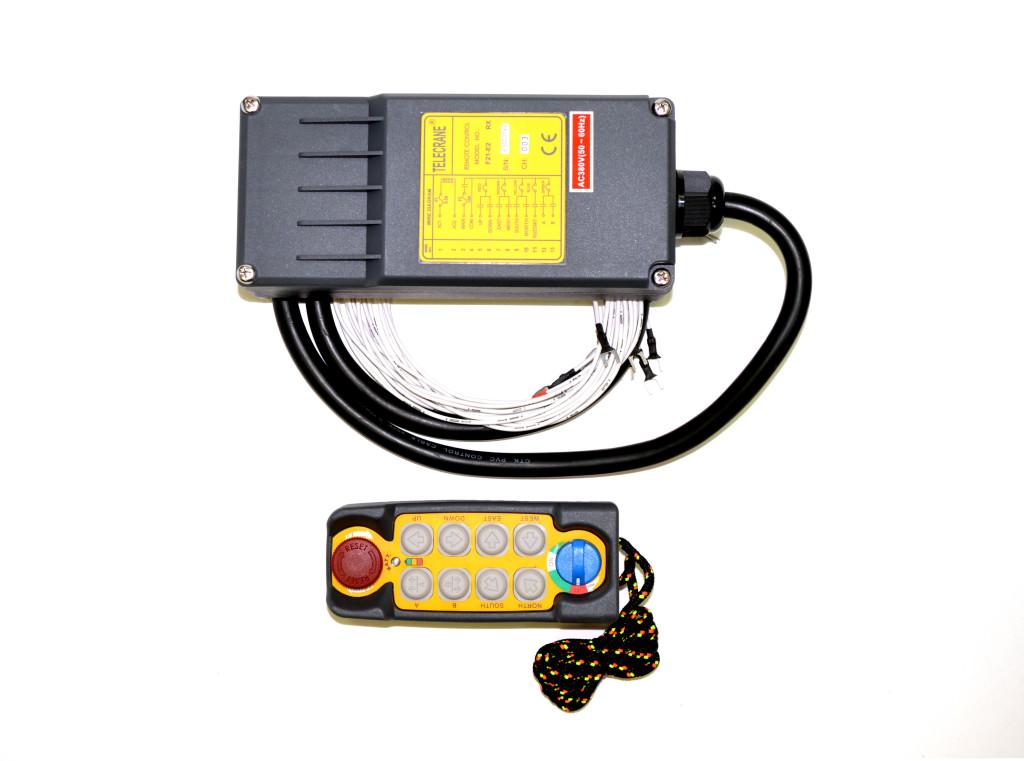 Система радиоуправление краном
