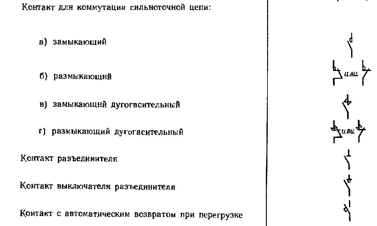 Буквенные обозначения в электрических схемах