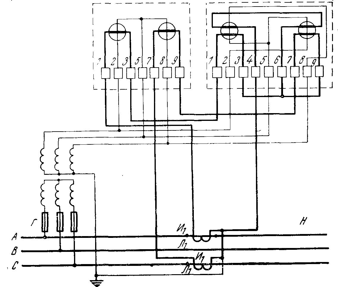 Подключение счетчика электроэнергии в низковольтную сеть большой мощности
