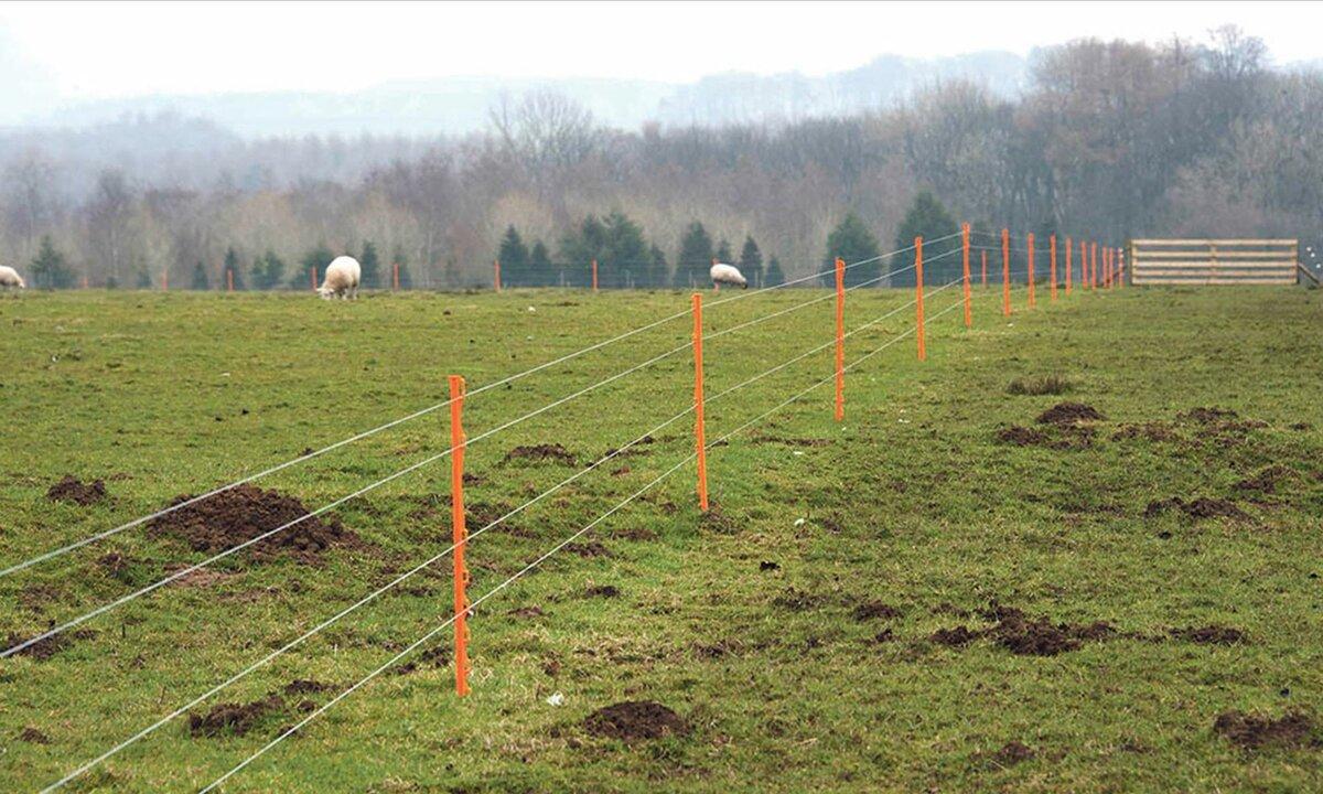 Стационарная электроизгородь. применение электрической изгороди. ограждение под током
